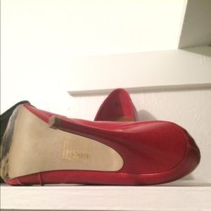Bakers Shoes - Super Cute Red Peep Toes!